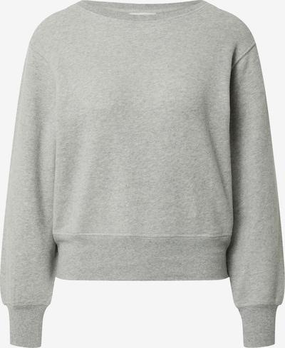 AMERICAN VINTAGE Sweat-shirt 'Neaford' en gris chiné, Vue avec produit