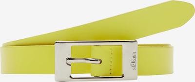 s.Oliver Leder in gelb, Produktansicht