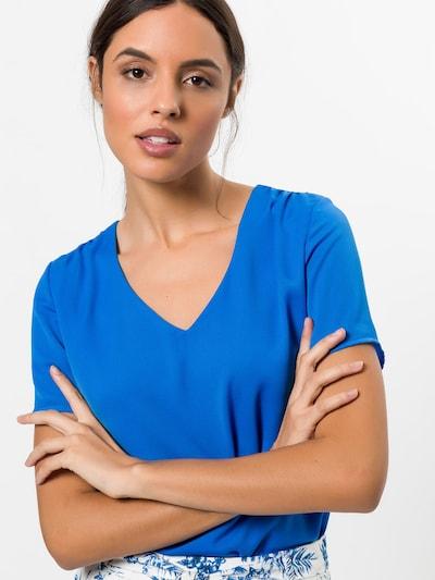 zero Blusenshirt in blau, Modelansicht