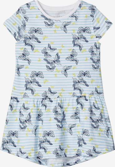 NAME IT Kleid in nachtblau / hellblau / senf / weiß, Produktansicht
