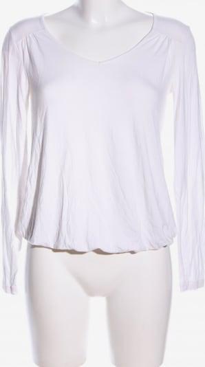 grain de malice V-Ausschnitt-Pullover in S in weiß, Produktansicht