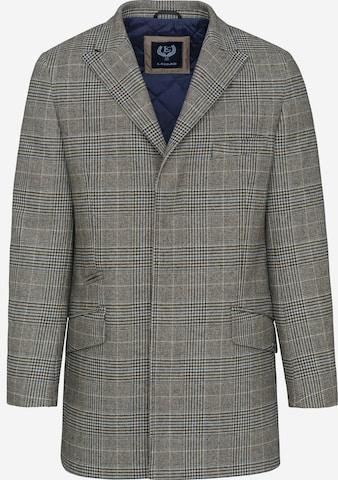Lavard Between-Seasons Coat in Brown