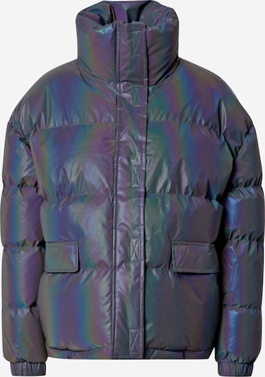 Missguided Tehnička jakna u tamno ljubičasta: Prednji pogled