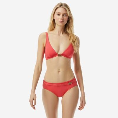 MICHAEL Michael Kors Bikinitop in de kleur Lichtrood, Modelweergave