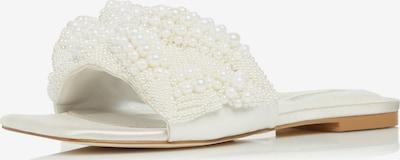 Dune LONDON Pantolette 'NOVALEE' in weiß / perlweiß, Produktansicht