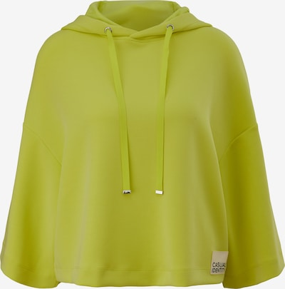 comma casual identity Sweatshirt in Lime, Item view