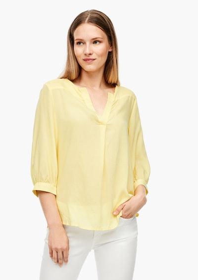 Q/S designed by Blūze pieejami gaiši dzeltens, Modeļa skats