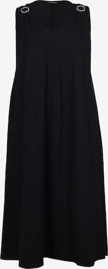 seeyou Jerseykleid mit Strassbrosche in schwarz, Produktansicht