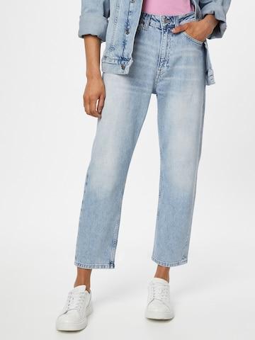 Tommy Jeans Teksapüksid 'HARPER', värv sinine