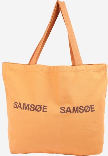 Samsoe Samsoe Shopper 'Frinka' - baklažánová / oranžová, Produkt
