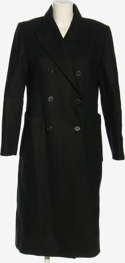 ZARA Wollmantel in L in schwarz, Produktansicht