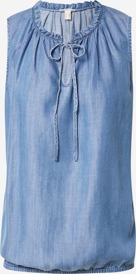 Bluză EDC BY ESPRIT pe albastru denim, Vizualizare produs