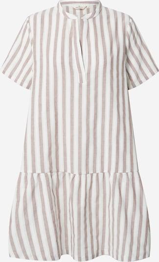 basic apparel Robe 'Kicki' en marron / blanc, Vue avec produit