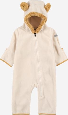 Costume fonctionnel 'Tiny Bear II Bunting' COLUMBIA en beige