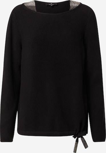 monari Pullover 'Reiskorn' in schwarz / silber, Produktansicht