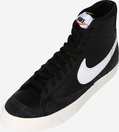Nike Sportswear Kotníkové tenisky 'Blazer 77' - černá / bílá, Produkt
