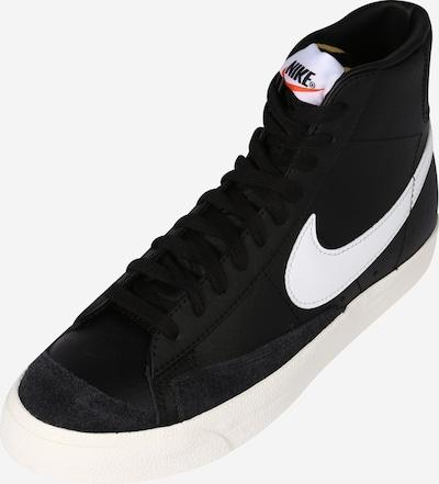 Sneaker înalt 'Blazer 77' Nike Sportswear pe negru / alb, Vizualizare produs