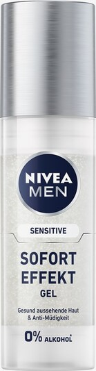 NIVEA Rasiergel 'Sensitive Sofort Effekt' in blau / silber / weiß, Produktansicht
