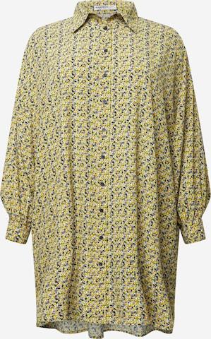 GLAMOROUS CURVE Kleid in Gelb