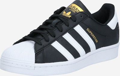 ADIDAS ORIGINALS Sneaker 'Superstar' in gold / schwarz / weiß, Produktansicht