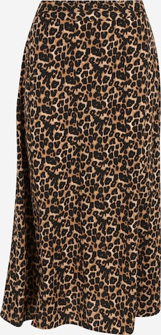 Pieces Tall Skirt 'KRISSIE' in Beige