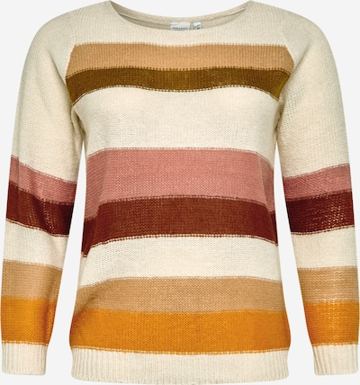 Junarose Sweater 'Alyas' in mixed colours / pink / white, Item view