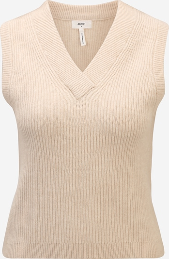 OBJECT Petite Pullover 'MALENA' in creme, Produktansicht