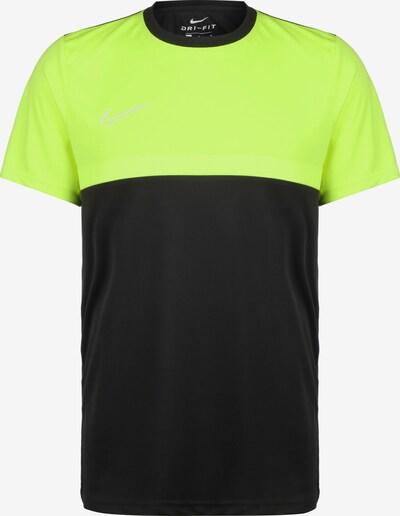 NIKE Trainingsshirt 'Academy Pro' in neongrün / schwarz / weiß, Produktansicht
