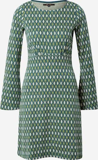 King Louie Sukienka 'Duffy' w kolorze jasnozielony / ciemnozielony / białym, Podgląd produktu
