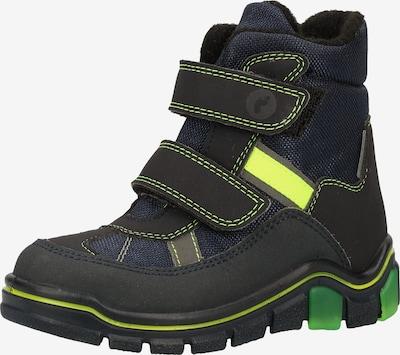 RICOSTA Škornji za v sneg 'GABRIS' | nočno modra / rumena barva, Prikaz izdelka
