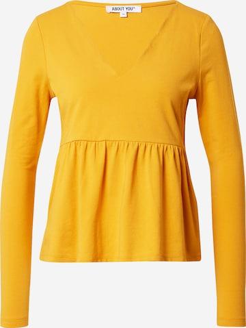 ABOUT YOU Skjorte 'Francesca' i gul