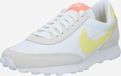 Nike Sportswear Niske tenisice 'Daybreak' u limun / svijetlosiva / prljavo bijela, Pregled proizvoda
