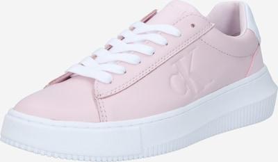 Calvin Klein Ниски сникърси в пастелно розово / бяло, Преглед на продукта