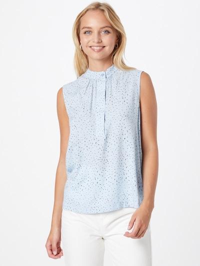 Bluză VERO MODA pe albastru deschis / negru / alb, Vizualizare model