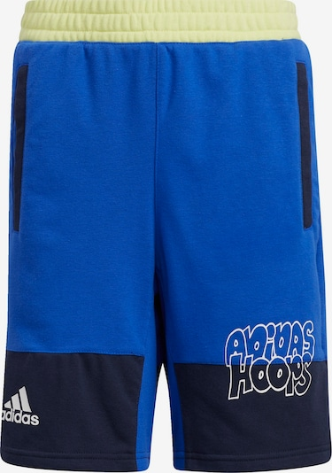 ADIDAS PERFORMANCE Sportbroek in de kleur Nachtblauw / Hemelsblauw / Wit, Productweergave