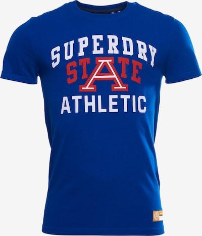 Superdry Shirt in de kleur Royal blue/koningsblauw, Productweergave