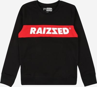 Raizzed Sweater majica 'Novato' u crvena / crna / bijela, Pregled proizvoda