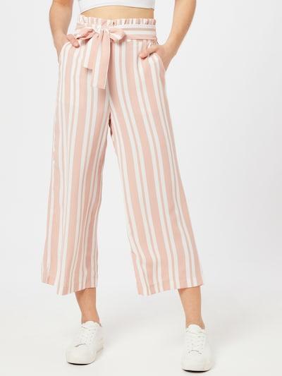 VILA Hose 'RASHA' in rosa / weiß, Modelansicht