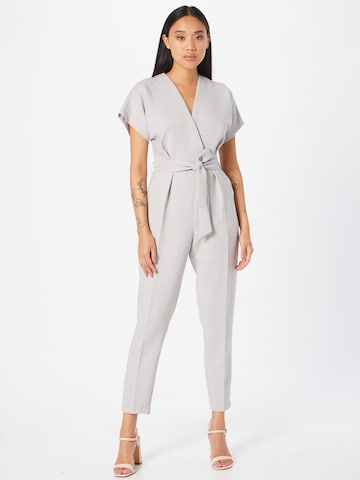 Closet London Jumpsuit in Grey