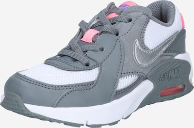 Nike Sportswear Сникърси 'Nike Air Max Excee' в сиво / бяло: Изглед отпред