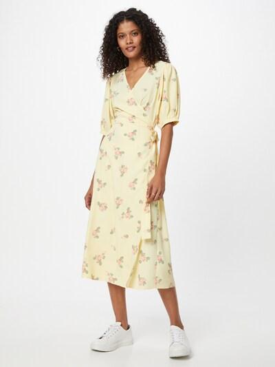 Suknelė iš GLAMOROUS , spalva - geltona / žolės žalia / rožinė, Modelio vaizdas