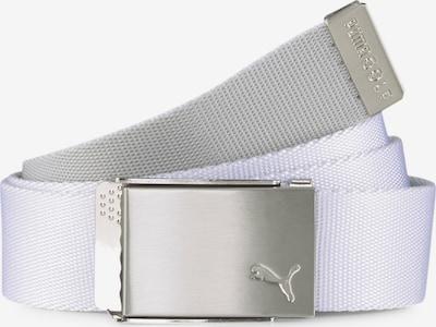 PUMA Sportriem in de kleur Zilvergrijs / Wit, Productweergave