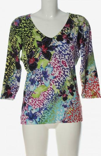 Ovanti V-Ausschnitt-Pullover in L in blau / grün / pink, Produktansicht