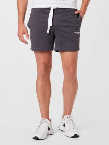 JACK & JONES Trousers 'HEXA' in Grey