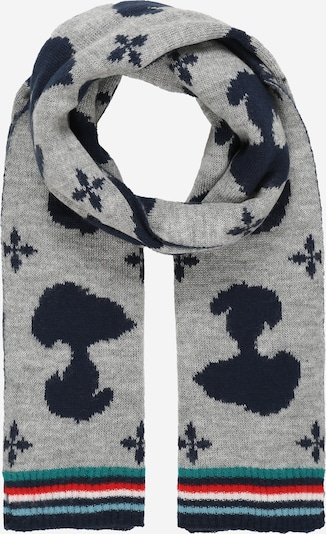 CODELLO Scarf 'PEANUTS' in Navy / Light blue / Grey / Red / White, Item view
