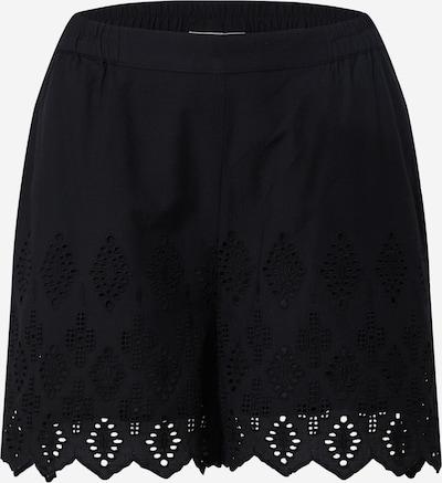 Freequent Shorts 'EMBI' in schwarz, Produktansicht