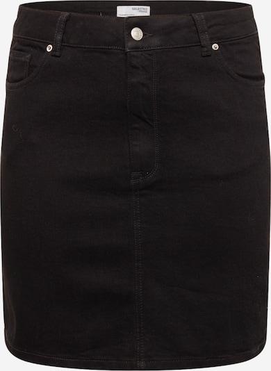 Selected Femme Curve Suknja 'Tenna' u crni traper, Pregled proizvoda