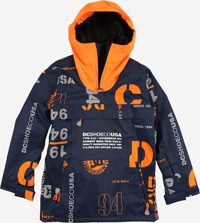 DC Shoes Outdoorová bunda 'ASAP' - šedá / oranžová / černá, Produkt