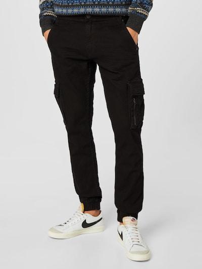BLEND Rifľové kapsáče - čierny denim, Model/-ka