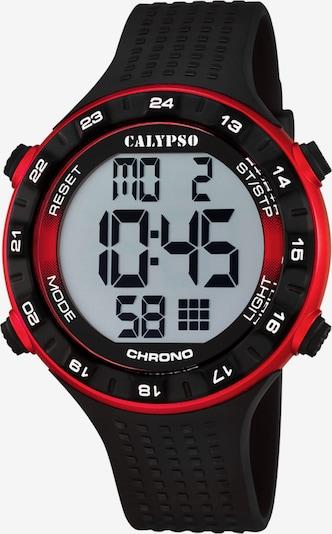 CALYPSO WATCHES Uhr in dunkelrot / schwarz, Produktansicht